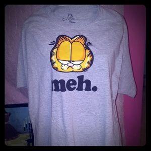 """Garfield """"meh."""" T-Shirt"""